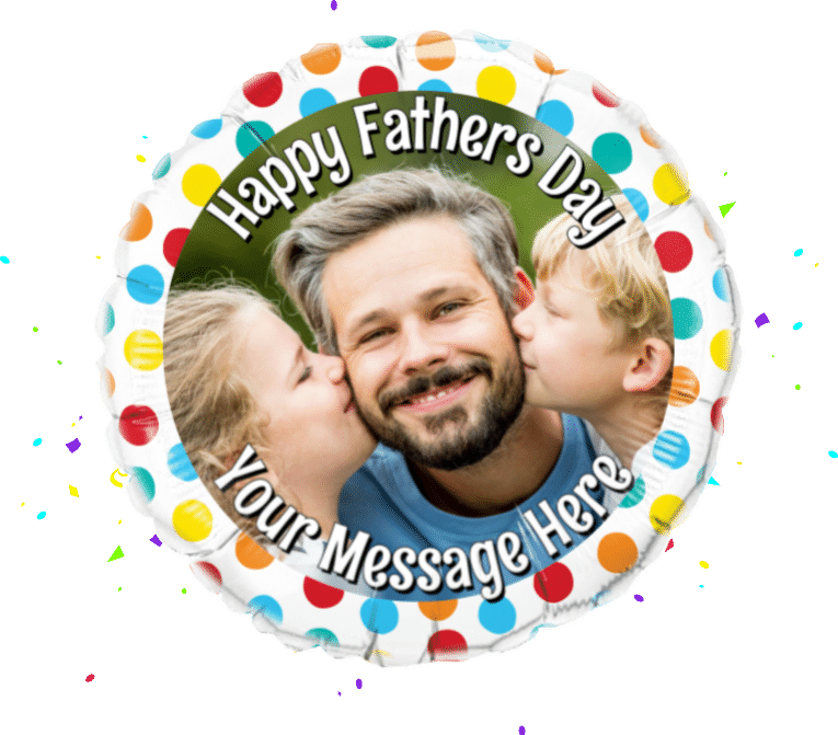 Fathers Day Photo Upload balloon
