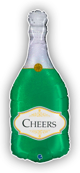Cheers Champagne Bottle