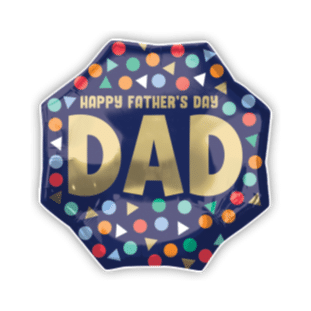 Happy Fathers Day Dad Balloon