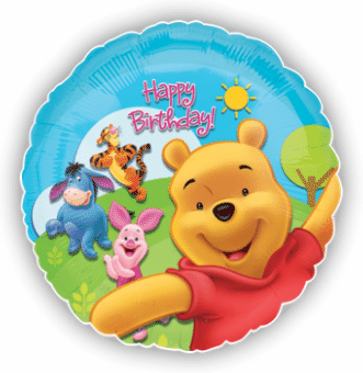 Pooh and Friends Sunny Birthday