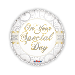 On Your Special Day Elegance Balloon