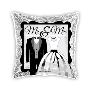 Mr & Mrs Dress And Suit Balloon