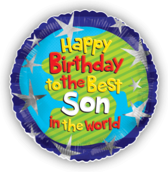 Happy Birthday To The Best Son In The World