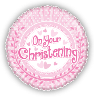 On Your Christening Pink Dots
