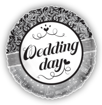 Wedding Day Floral Dots
