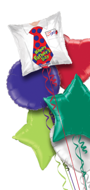 Fathers Day Tie Balloon