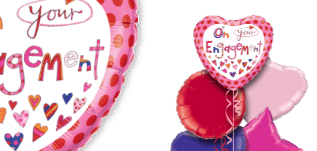 On Your Engagement Fun Balloon
