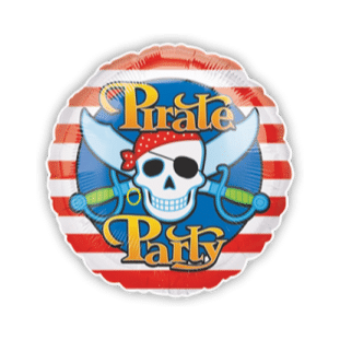 Pirate Party Balloon