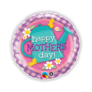 Mothers Day Watering Can Balloon