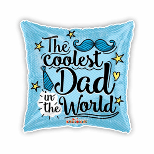 The Coolest Dad in the World Balloon