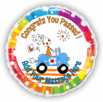 Congrats Passed Driving Test
