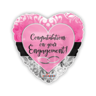 Congratulations On Your Engagement Balloon