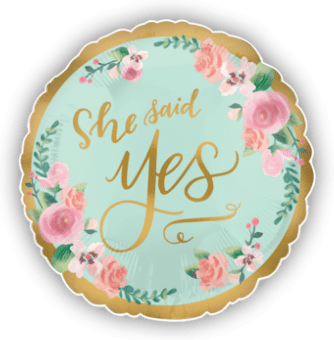 From Miss to Mrs She Said Yes