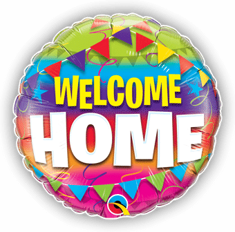 Welcome Home Flags