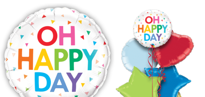 Oh Happy Day Balloon