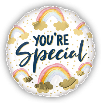 You Are Special Rainbow Balloon