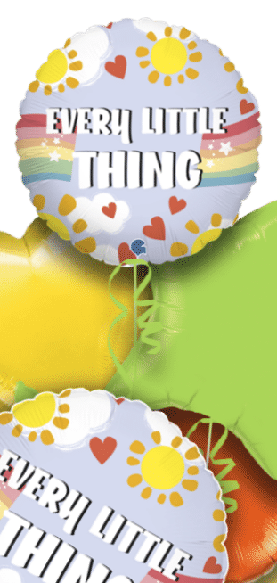 Every Little Thing Is Gonna Be Alright DOUBLESIDED Balloon