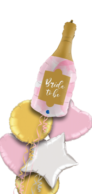 Bride to Be Champagne Balloon