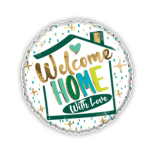 Welcome Home With Love Balloon