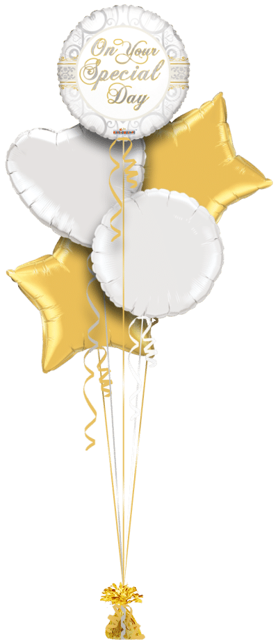 On Your Special Day Elegance Balloon Bunch