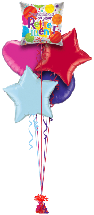 Congratulations on your Retirement Balloon Bunch