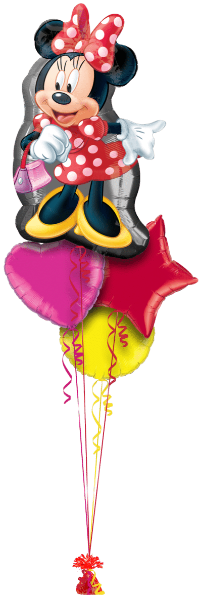 Minnie Mouse SuperShape Balloon Bunch