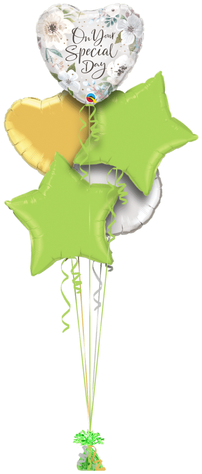 Your Special Day Balloon Bunch