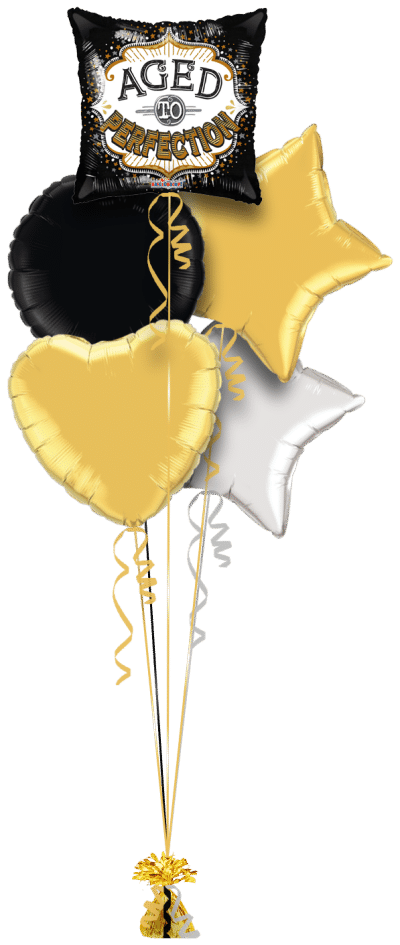 Aged To Perfection Balloon Bunch