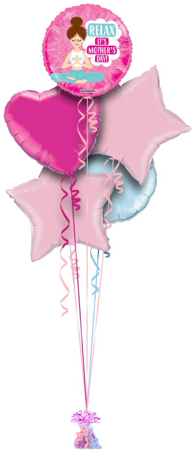 Relax Its Mothers Day Balloon Bunch